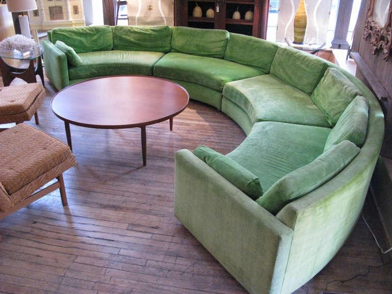 Affordable Semi Circular Sectional Sofas: 12 Amazing Semi Circular Pertaining To Semi Circular Sectional Sofas (Image 5 of 20)