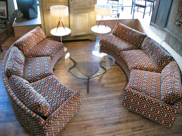 Affordable Semi Circular Sectional Sofas: 12 Amazing Semi Circular With Regard To Semi Circular Sectional Sofas (View 4 of 20)