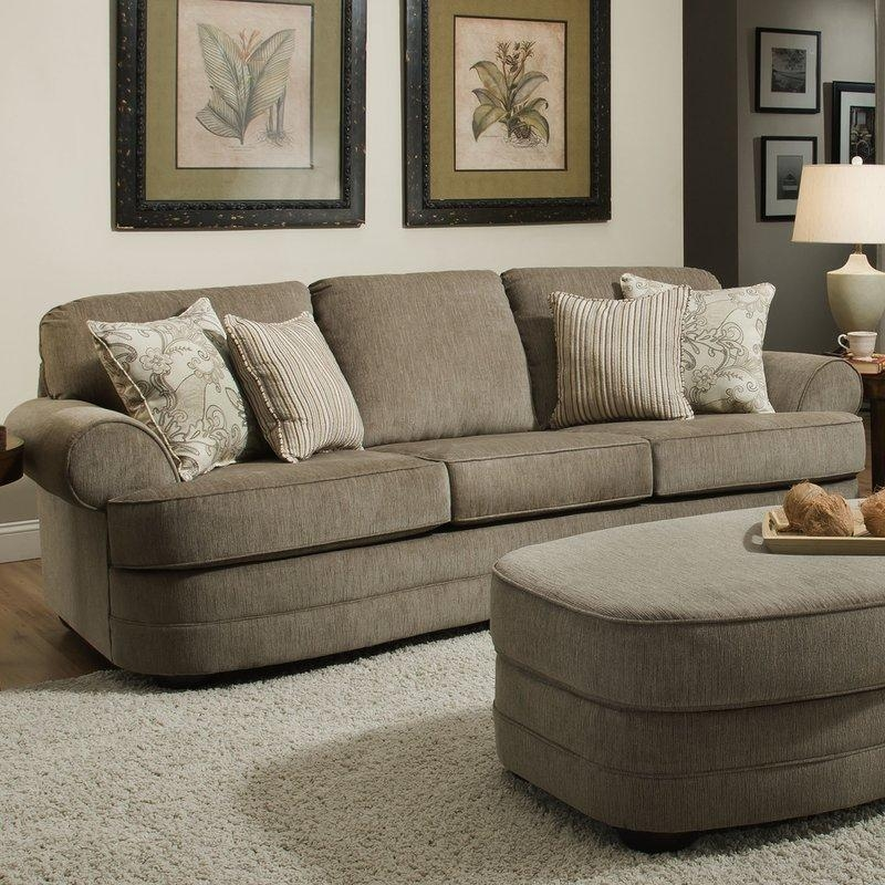 Alcott Hill Simmons Upholstery Ashendon Sofa & Reviews | Wayfair For Simmons Sofas (Image 7 of 20)