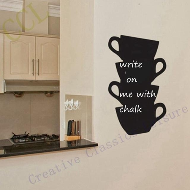 Aliexpress : Acquista Trasporto Libero Adesivi Murali Cucina Throughout Cucina Wall Art (Image 2 of 20)