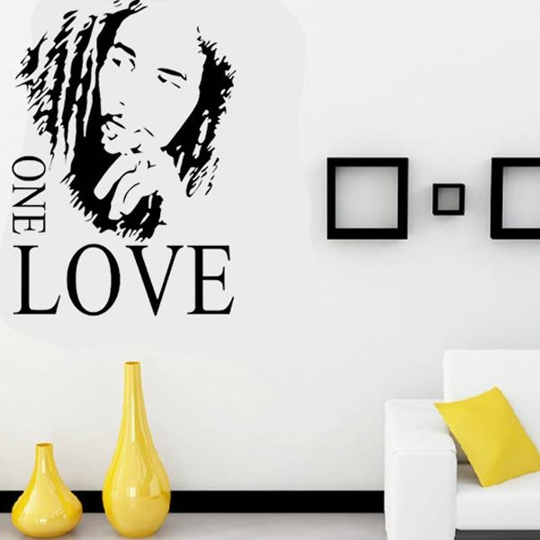 Aliexpress : Buy 1 Set 17*24 Inch Bob Marley Living Room Music Intended For Music Theme Wall Art (View 5 of 20)