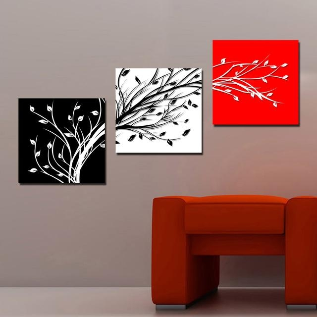 Aliexpress : Buy 3 Panels Combination Wall Art Set Three With Regard To Wall Art Sets For Living Room (View 12 of 20)