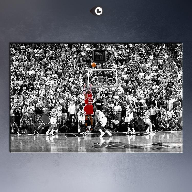 Aliexpress : Buy Free Shipmentmichael Jordan Huge Art Giant In Huge Wall Art (Image 6 of 20)