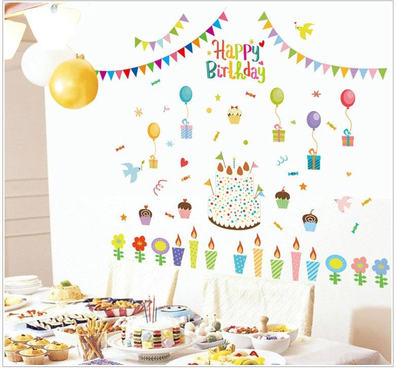 Featured Image of Happy Birthday Wall Art