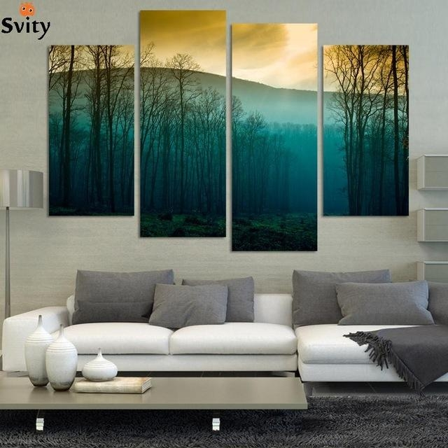 Aliexpress : Buy Hot Sale! Modern Abstract Huge Wall Art With Huge Wall Art (Image 7 of 20)