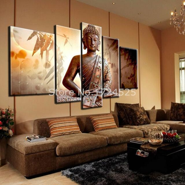 Aliexpress : Buy Hot Sell Handmade Buddha Religion Within Large Buddha Wall Art (View 13 of 20)