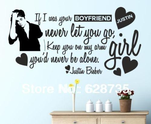 Aliexpress : Buy Justin Bieber Boyfriend Children Wall Art For Justin Bieber Wall Art (View 2 of 20)