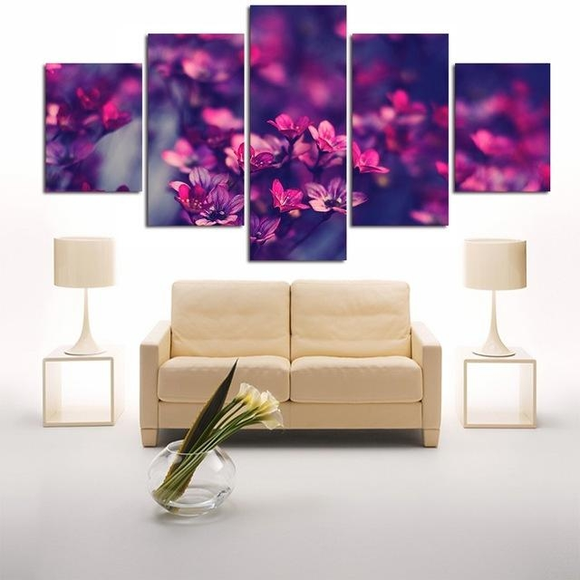 Aliexpress : Buy Modular Wall Art Pictures Canvas Hd Printed Pertaining To Modular Wall Art (View 9 of 20)