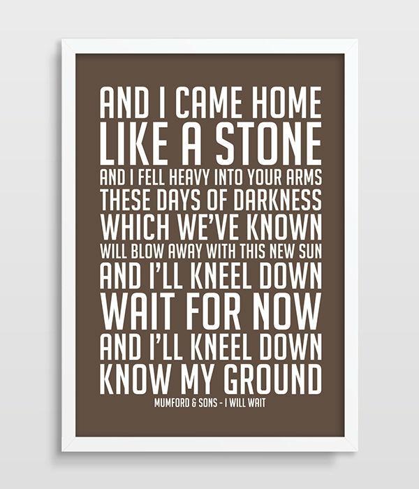 Featured Image of Music Lyrics Wall Art