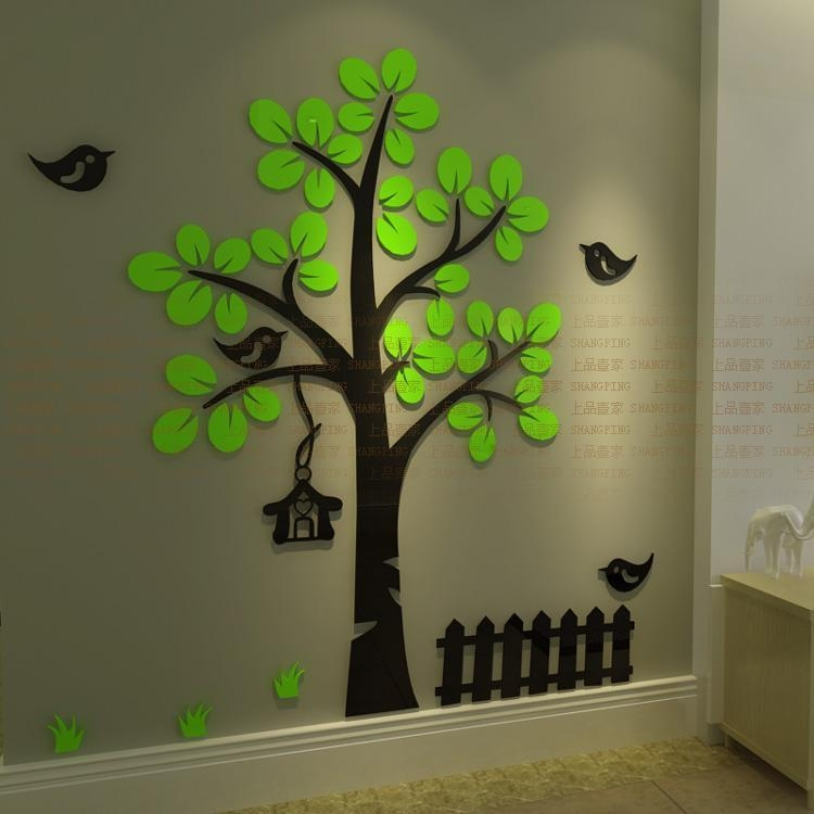 Featured Image of 3D Tree Wall Art