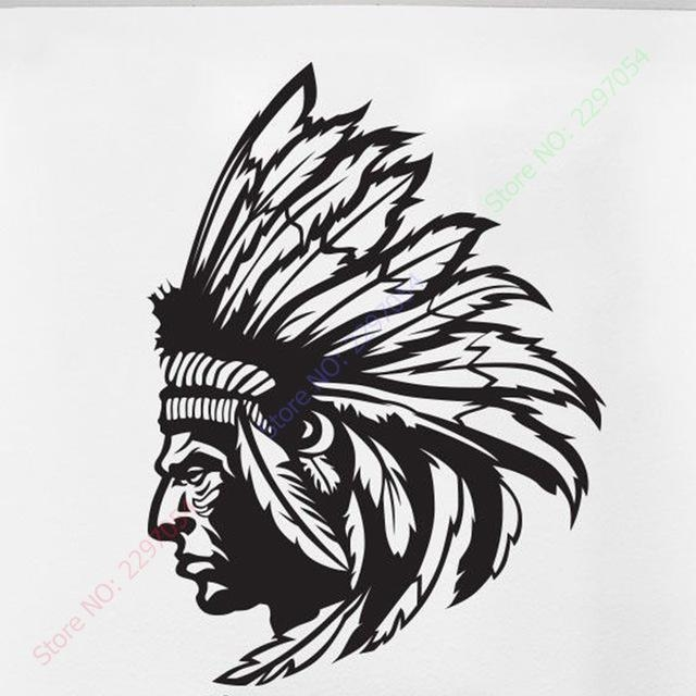 Aliexpress : Buy Redskin Native American Indian Chief Wall Intended For Native American Wall Art (Image 5 of 20)