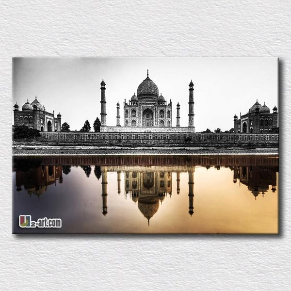 Aliexpress : Buy Taj Mahal Architecture Picture Printing With Taj Mahal Wall Art (Image 4 of 20)