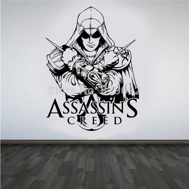 Aliexpress : Buy Video Game Wall Stickers Assassins Creed With Regard To Video Game Wall Art (Image 3 of 20)