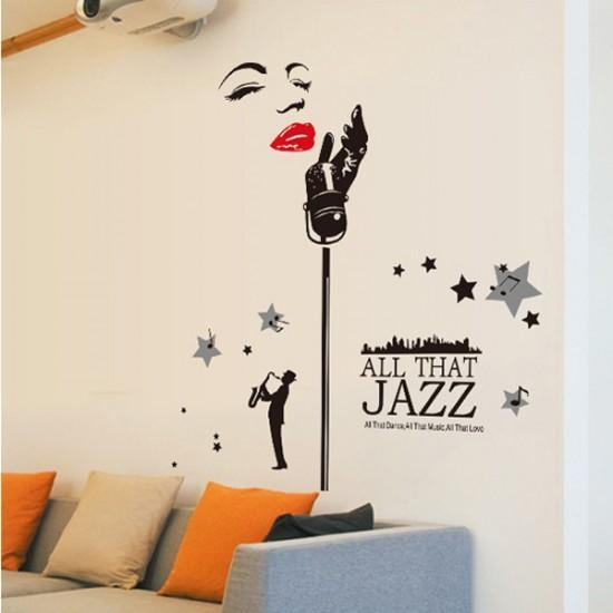 All That Jazz Music – Marilyn Monroe Wall Art | Wall Decals Inside Marilyn Monroe Wall Art (Image 7 of 20)