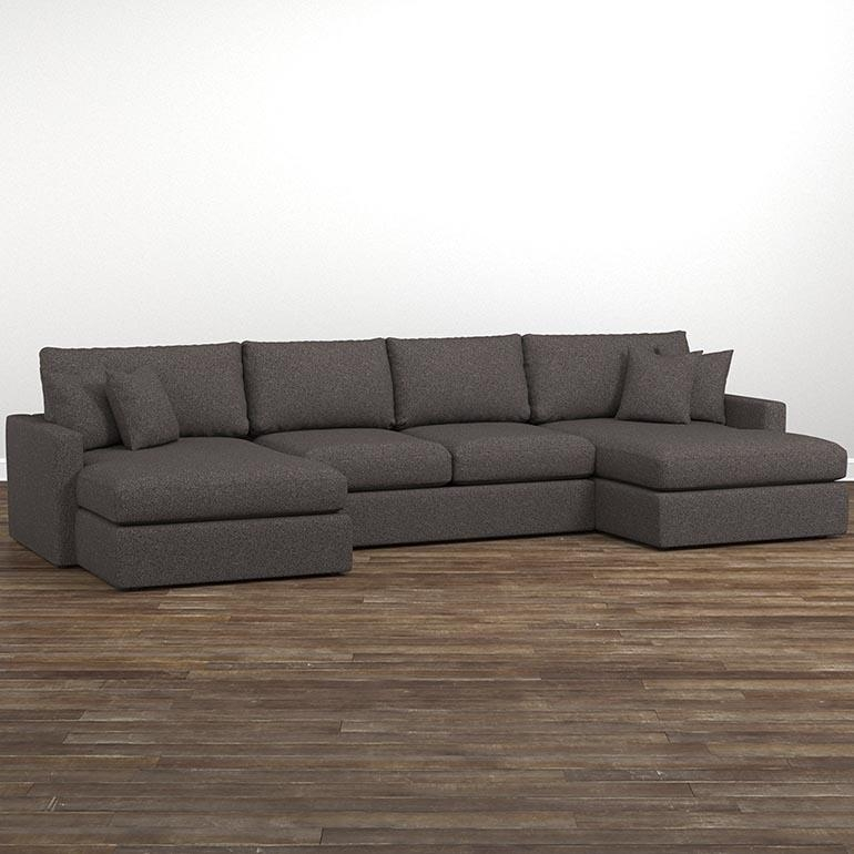 Allure Double Chaise Sectional Inside Chaise Sofas (Image 6 of 20)