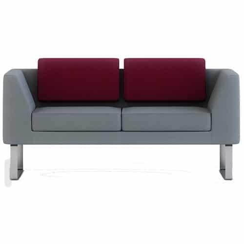 Alvier | Sofas And Chairs | Wave Office Ltd Throughout Sofas With Chrome Legs (Image 4 of 20)