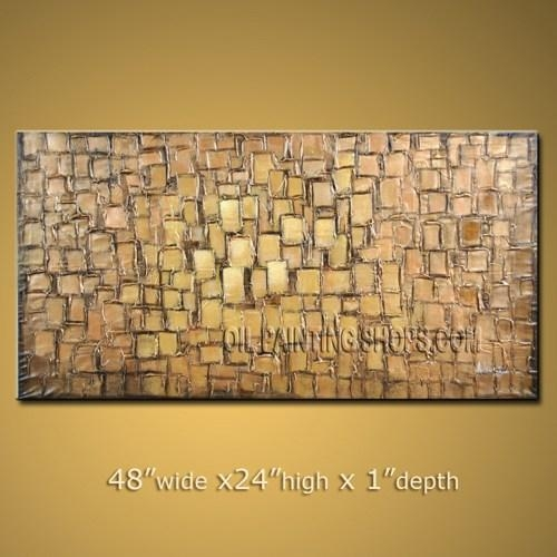 Amazing Large Wall Art Decorating Ideas Impressionist Palette Intended For Large Yellow Wall Art (View 7 of 20)
