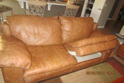 Amazing Of Sealy Leather Sofa – Interiorvues In Sealy Leather Sofas (Image 3 of 20)