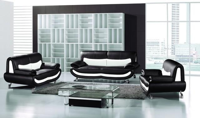 Amazing Set Of Chairs For Living Room – Setting Furniture In Intended For Black Leather Sofas And Loveseat Sets (Image 2 of 20)