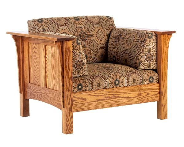 Amish Armchairs And Sofas | The Amish Store | Handcrafted Solid Inside Shaker Sofas (Image 4 of 20)