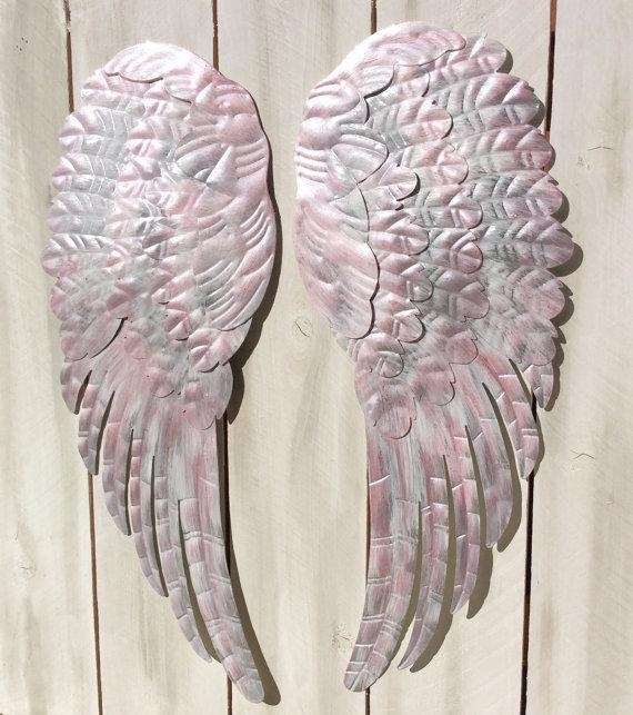 Angel Wings Wall Decor | Roselawnlutheran Within Angel Wings Wall Art (Image 4 of 20)