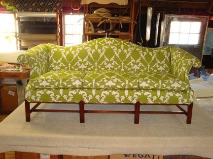 Antique Chippendale Camelback Sofa | For The Home | Pinterest With Camel Back Couch Slipcovers (Image 6 of 20)