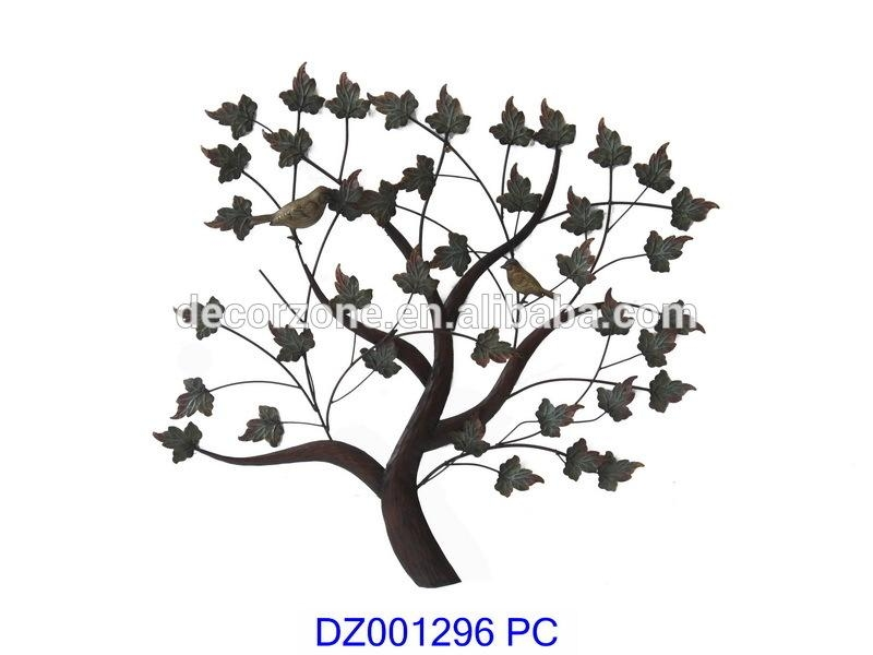 Antique Decorative Tree Metal Wall Art Decor – Buy Wall Art Decor Pertaining To Wrought Iron Tree Wall Art (View 14 of 20)
