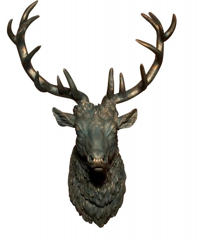 Antler Wall Decor Uk (Image 8 of 20)