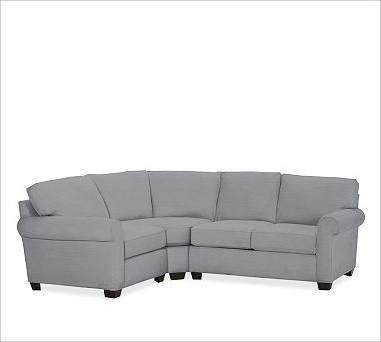 Apartment Size Sectional Sofa Leather (Image 5 of 20)