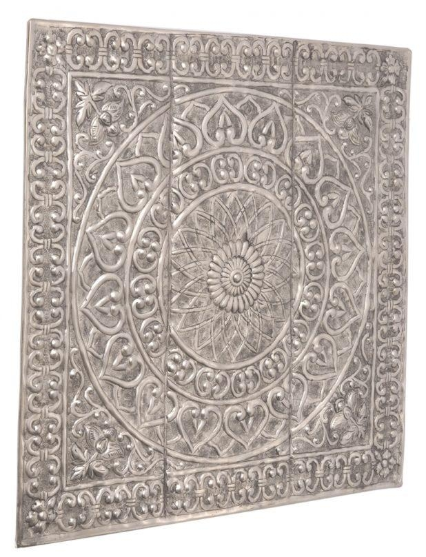 Appealing Moroccan Style Metal Wall Art Large Gold Foil Foiled In Moroccan Metal Wall Art (Image 6 of 20)