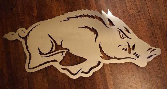 Arkansas Razorback Home Decor