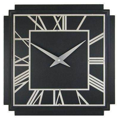 Art Deco Wall Clock Easy Metal Wall Art For Large Canvas Wall Art Within Art Deco Metal Wall Art (Image 9 of 20)