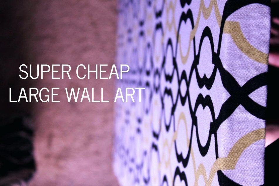 Art For Large Walls – Bookpeddler Throughout Large Inexpensive Wall Art (Image 2 of 20)