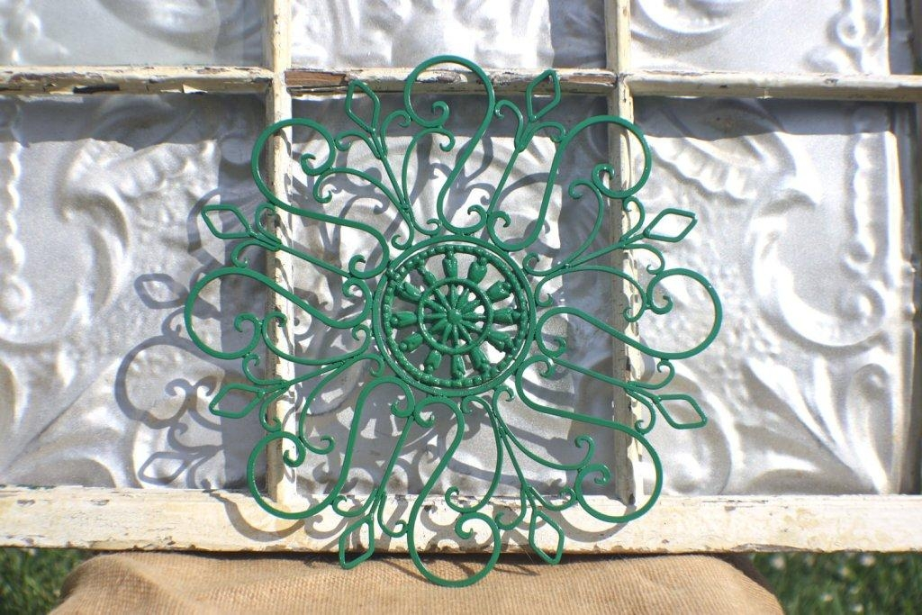 Art Outdoor Wrought Iron Wall Decor Ideas | Home Design Ideas Pertaining To Wrought Iron Garden Wall Art (View 18 of 20)