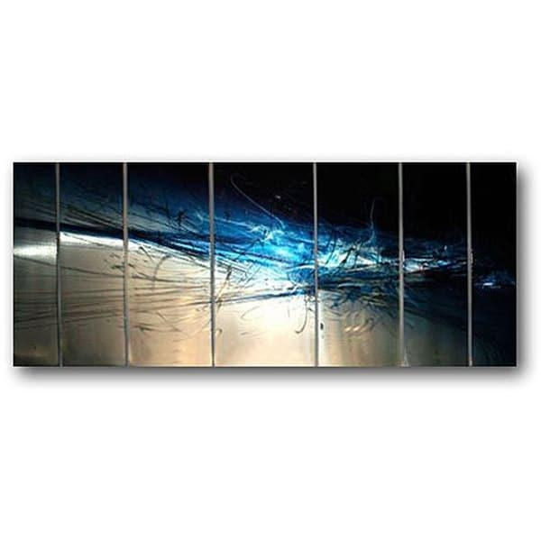 Ash Carl 'forever' 7 Panel Abstract Metal Wall Art – Free Shipping Within Ash Carl Metal Art (Image 14 of 20)