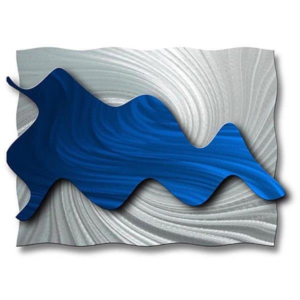 Ash Carl 'hydrodynamic' Metal Wall Art – Free Shipping Today In Ash Carl Metal Wall Art (Image 11 of 20)