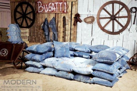 Merveilleux Ashbee Design: Denim Blue Jeans U2022 Furniture Inside Blue Jean Sofas (Image 5  Of