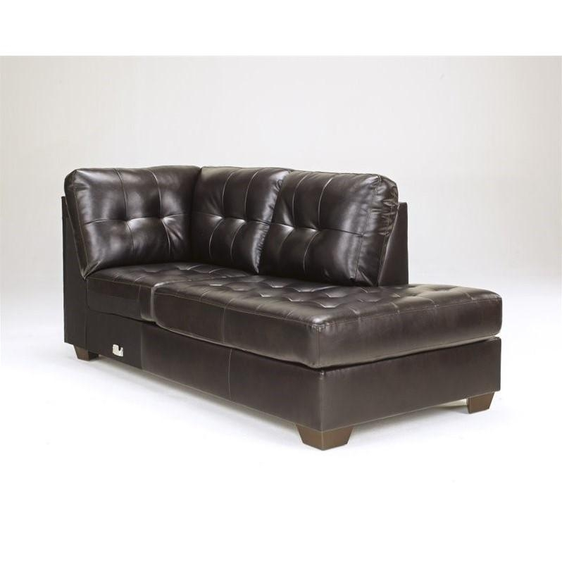Ashley Furniture Alliston 2 Piece Leather Sectional Sofa In Intended For Ashley Furniture Leather Sectional Sofas (View 17 of 20)