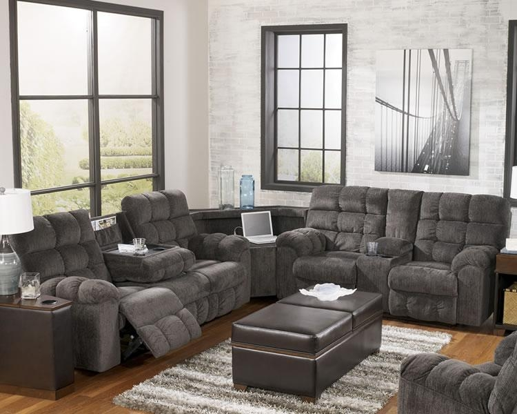Ashley Furniture Sectional Sofas With Recliners | Cafemomonh With Regard To Ashley Furniture Leather Sectional Sofas (Image 5 of 20)