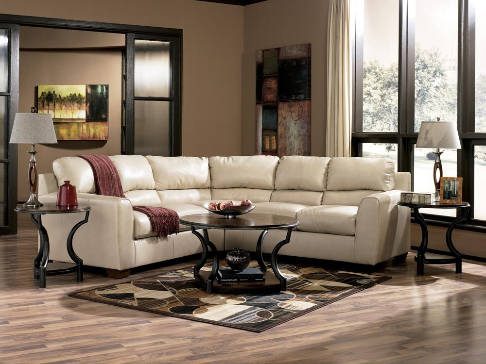 Ashley Leather Sofa (Image 6 of 20)