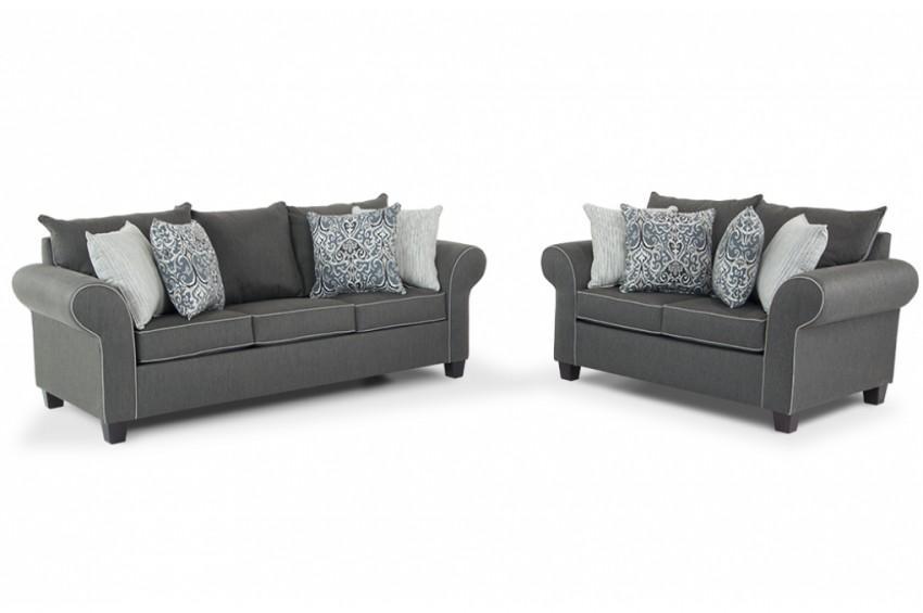 Ashton Sofa & Loveseat | Bob's Discount Furniture Within Ashton Sofas (Image 12 of 20)