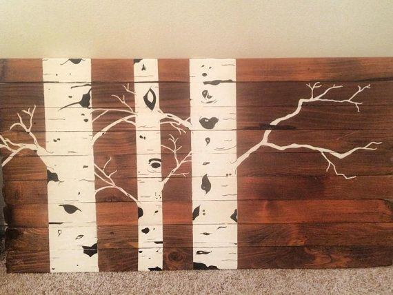 Aspen Tree Wall Art | Living Room | Pinterest | Tree Wall Art Inside Aspen Tree Wall Art (View 3 of 20)