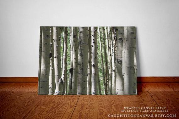 Aspen Tree Wall Art | Wallartideas Within Aspen Tree Wall Art (Image 5 of 20)