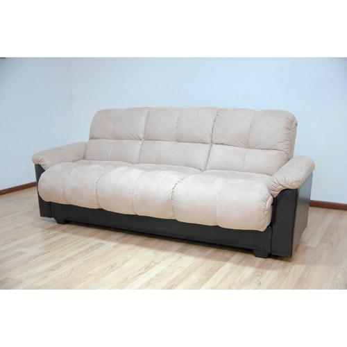 Atherton Home Taylor Convertible Futon Sofa Bed – Walmart Within Convertible Futon Sofa Beds (Image 1 of 20)