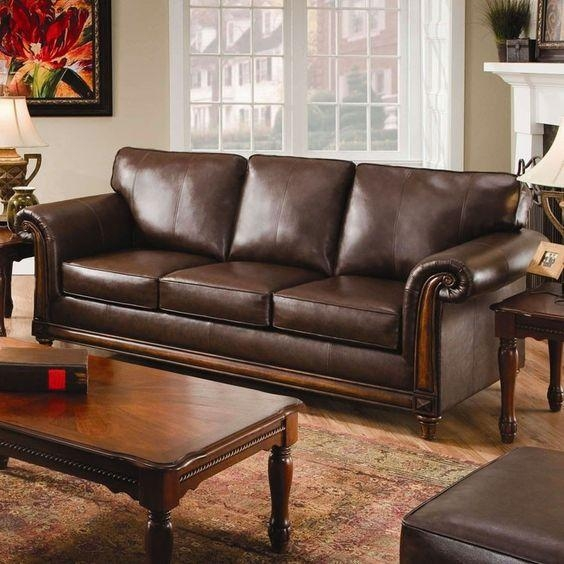 Attractive Simmons Bonded Leather Sofa Black Bonded Leather With Simmons Leather Sofas And Loveseats (Image 7 of 20)