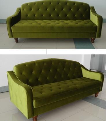 Ava Velvet Tufted Sleeper Sofa | Finelymade Furniture Regarding Ava Tufted Sleeper Sofas (Image 3 of 20)