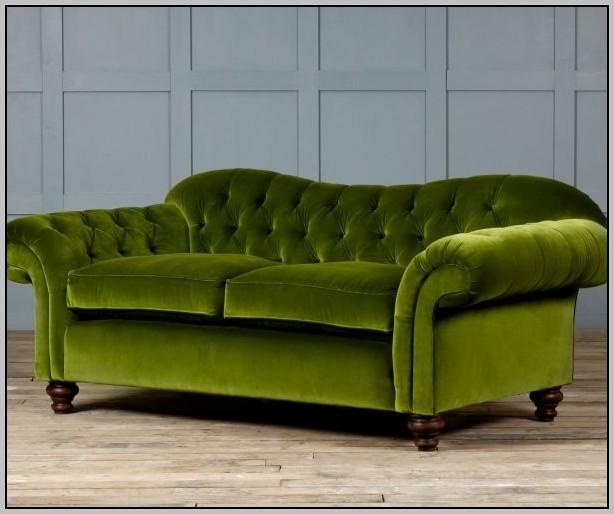 Ava Velvet Tufted Sleeper Sofa Uk – Sofas : Home Decorating Ideas Pertaining To Tufted Sleeper Sofas (Image 3 of 20)