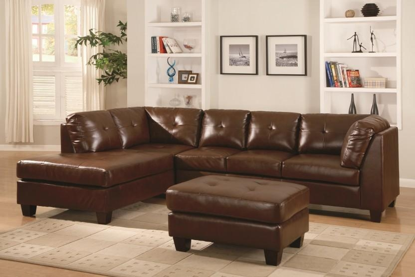 Awesome Bonded Leather Sofa With Home Decorators Collection With Simmons Bonded Leather Sofas (Image 3 of 20)