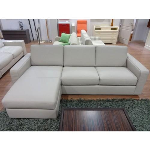 B 764 Leather Sectional Sofa Bed, Natuzzi Editions – Italmoda With Natuzzi Microfiber Sectional Sofas (Image 7 of 20)
