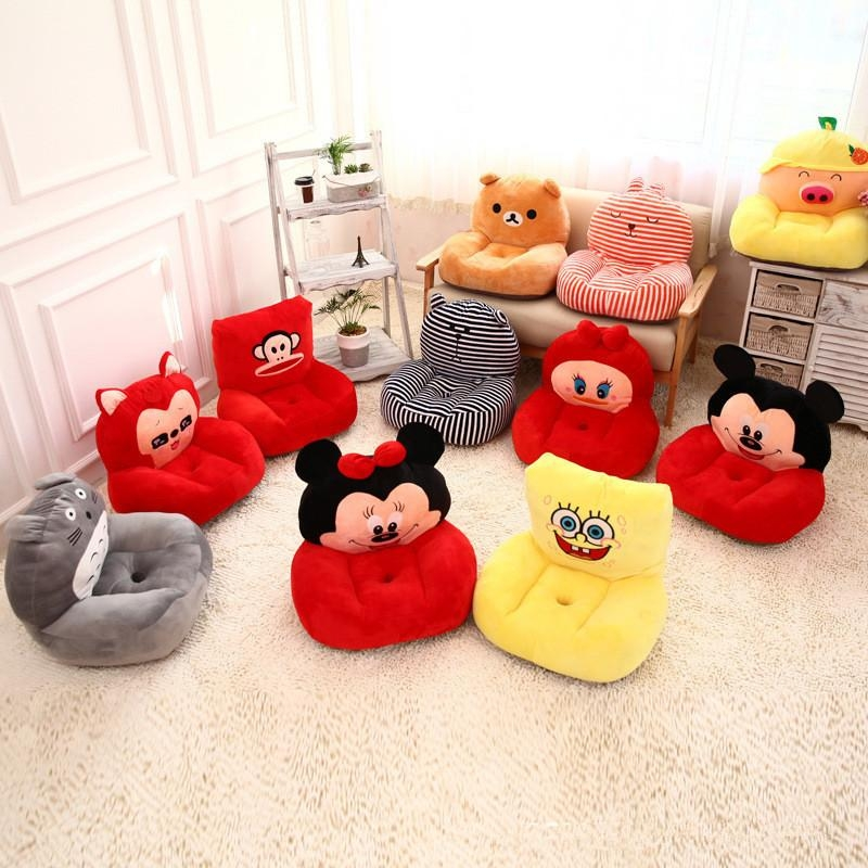Baby Kids Lovely Anime Sofa Hello Kitty/neighbor Totoro/despicable Intended For Sofa Beds For Baby (Image 2 of 20)